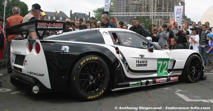 BADBOYVETTESCOM  Corvette Le Mans Ramp Up